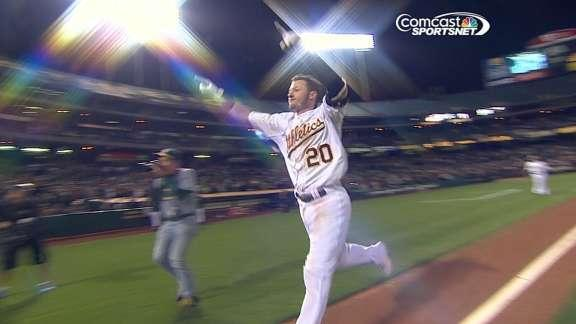 Donaldson rallies A's to 3-1 win over Tigers