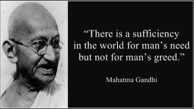 """Be the change that you want to see in the world"", Gandhi's quotes that are still relevant"