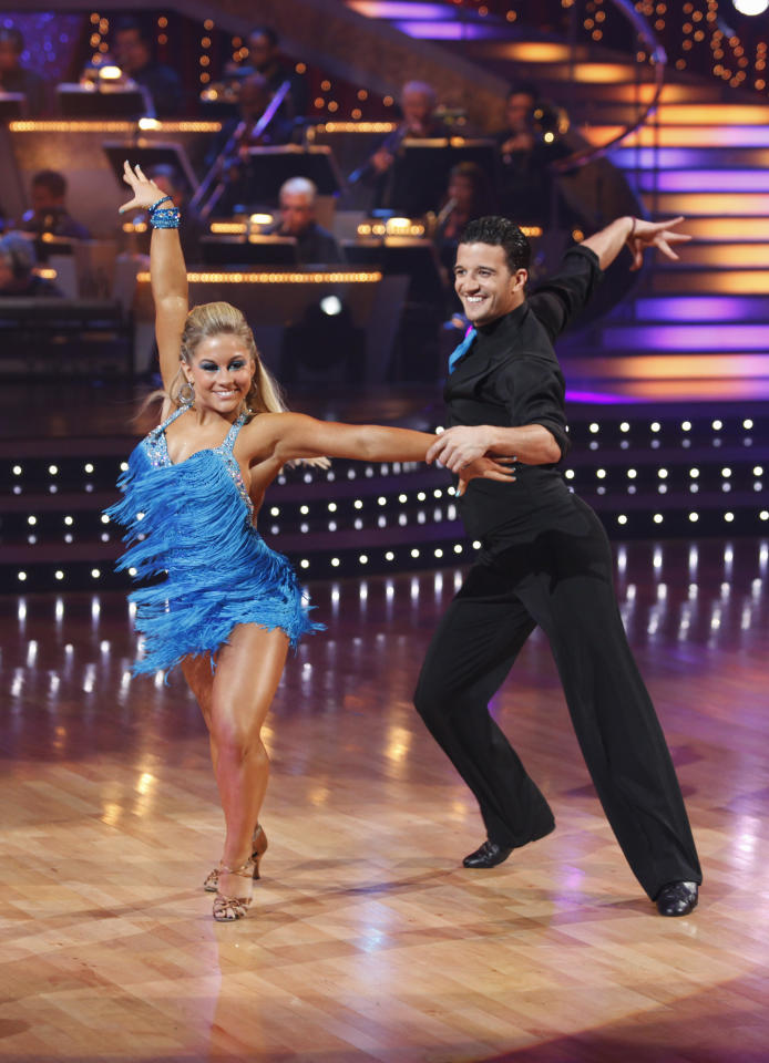 <p>Gymnast Shawn Johnson won the Mirrorball trophy during season 8. </p>