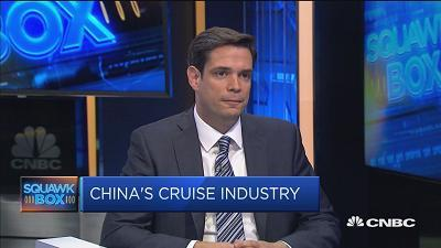 Bert Hernandez of Royal Caribbean International says the company has lengthened itineraries for Chinese tourists to take advantage of all the activities on its ships.