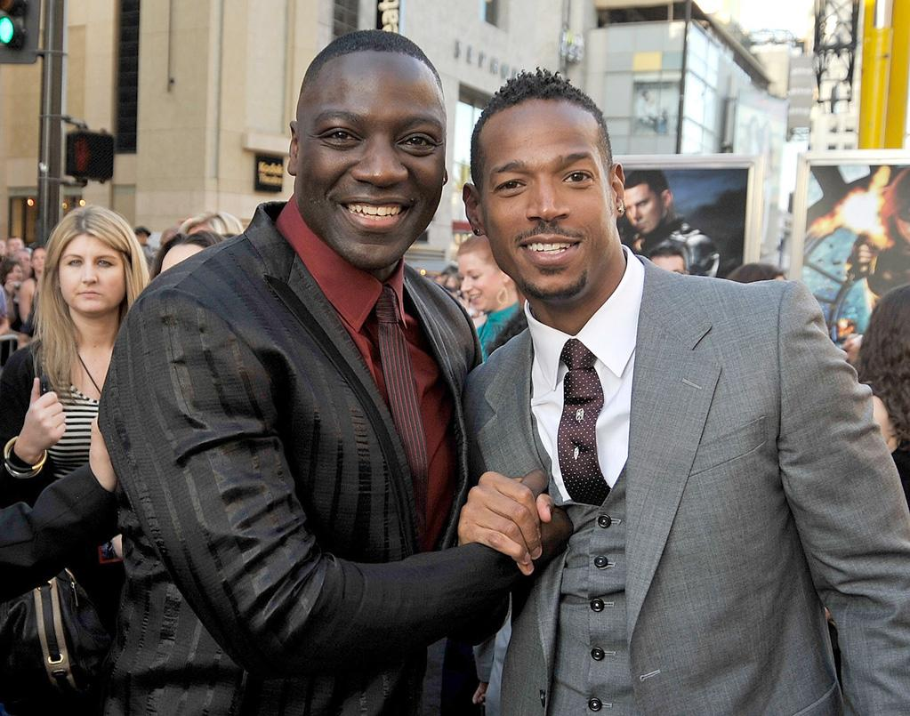 "<a href=""http://movies.yahoo.com/movie/contributor/1808642745"">Adewale Akinnuoye-Agbaje</a> and <a href=""http://movies.yahoo.com/movie/contributor/1800026089"">Marlon Wayans</a> at the Los Angeles premiere of <a href=""http://movies.yahoo.com/movie/1809993532/info"">G.I. Joe: The Rise of Cobra</a> - 08/06/2009"