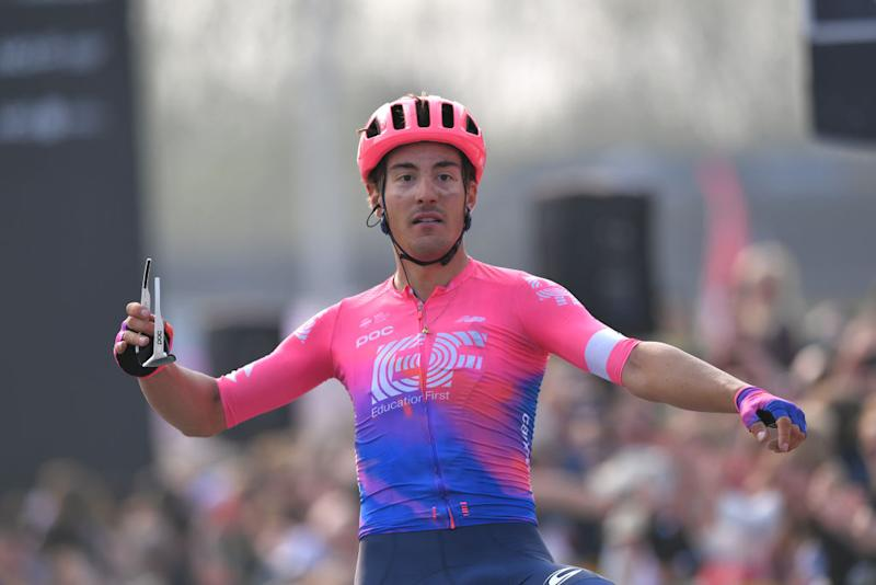 Alberto Bettiol (EF Pro Cycling) wins the 2019 Tour of Flanders