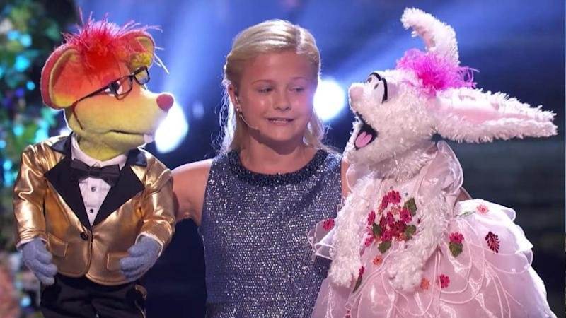 Ventriloquist Darci Lynne Farmer Performs Mind-Blowing Duet With Two Puppets in 'America's Got Talent' Finals