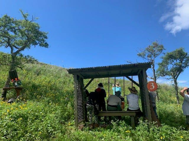 Located inside an extinct volcano, Maui Sporting Clays offers a chance to work on your Hawaii shooting skills.