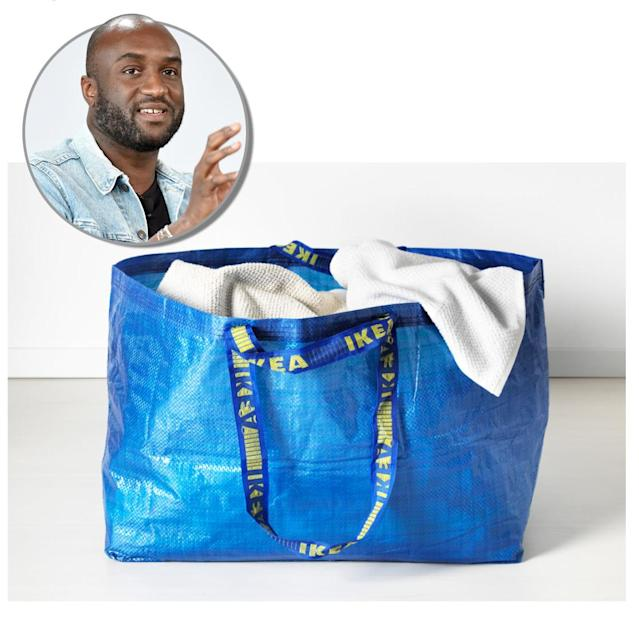 Virgil Abloh is designing a furniture line for IKEA and wants people to weigh in. (Photo: IKEA/Getty Images)
