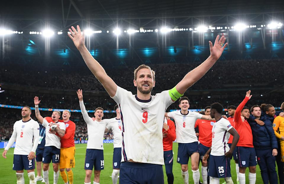 England will face Italy in the final of Euro 2020. (Getty)