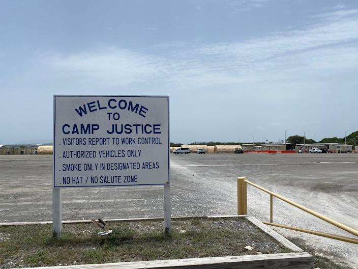 Camp Justice on Guantánamo Bay Naval Base, Cuba, where military trials of terror suspects take place (Richard Hall/The Independent)