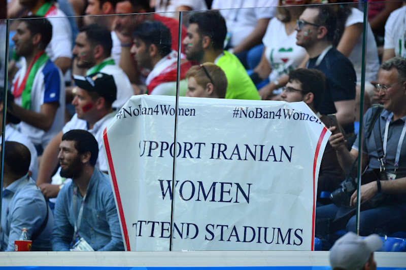 Iran Says 'Blue Girl' Football Fan Who Had Set Herself on Fire Admitted 'Mistake'