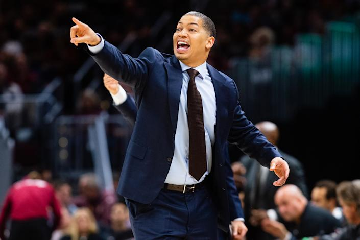 Tyronn Lue, who turned down the Lakers, said he wishes he was still coaching the Cavaliers. (Photo by Jason Miller/Getty Images)