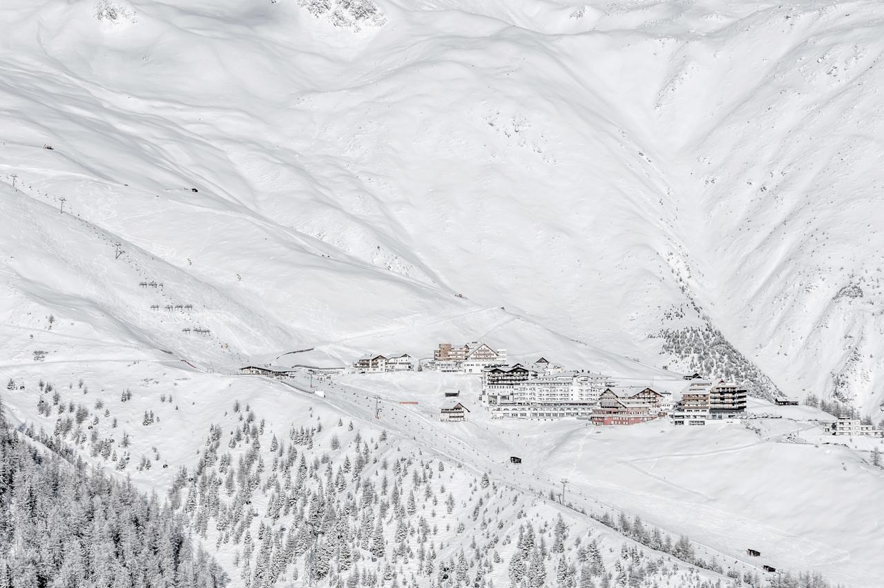"""<p>Sölden is known for its ski hard, party hard mentality. Two snow-sure glaciers and long, wide slopes ensure you'll earn your Glühwein at day's end. For a true test of endurance, tackle the nine-plus-mile run from the Schwarze Schneide to the bottom of the Gaislachkogl lift (if the scenery looks familiar, this slope starred in the chase sequence in the <a href=""""https://www.cntraveler.com/story/new-james-bond-museum-007-elements-mountain-austria?mbid=synd_yahoo_rss"""" target=""""_blank"""">James Bond film, <em>Spectre</em></a>). Save some leg power for après dancing to DJ beats at Schirmbar Sölden, a lively glass-topped venue near the bottom of the Giggijochbahn.</p> <p><strong>Where to Stay</strong>: Located in the center of town, Hotel Bergland was Daniel Craig's stay of choice while filming the <em>Spectre</em>. You can't beat the views from the hotel's Sky Spa.<br> <strong>Stats</strong>: 31 lifts connecting nearly 90 miles of slopes across three mountains. One-day lift ticket from $51.</p>"""