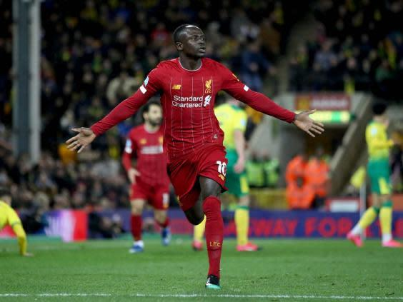 Mane is back fit and in form (Getty)