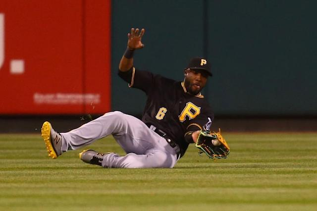 Starling Marte of the Pittsburgh Pirates has been suspended for 80 games after testing positive for the banned steroid Nandrolone (AFP Photo/Dilip Vishwanat)