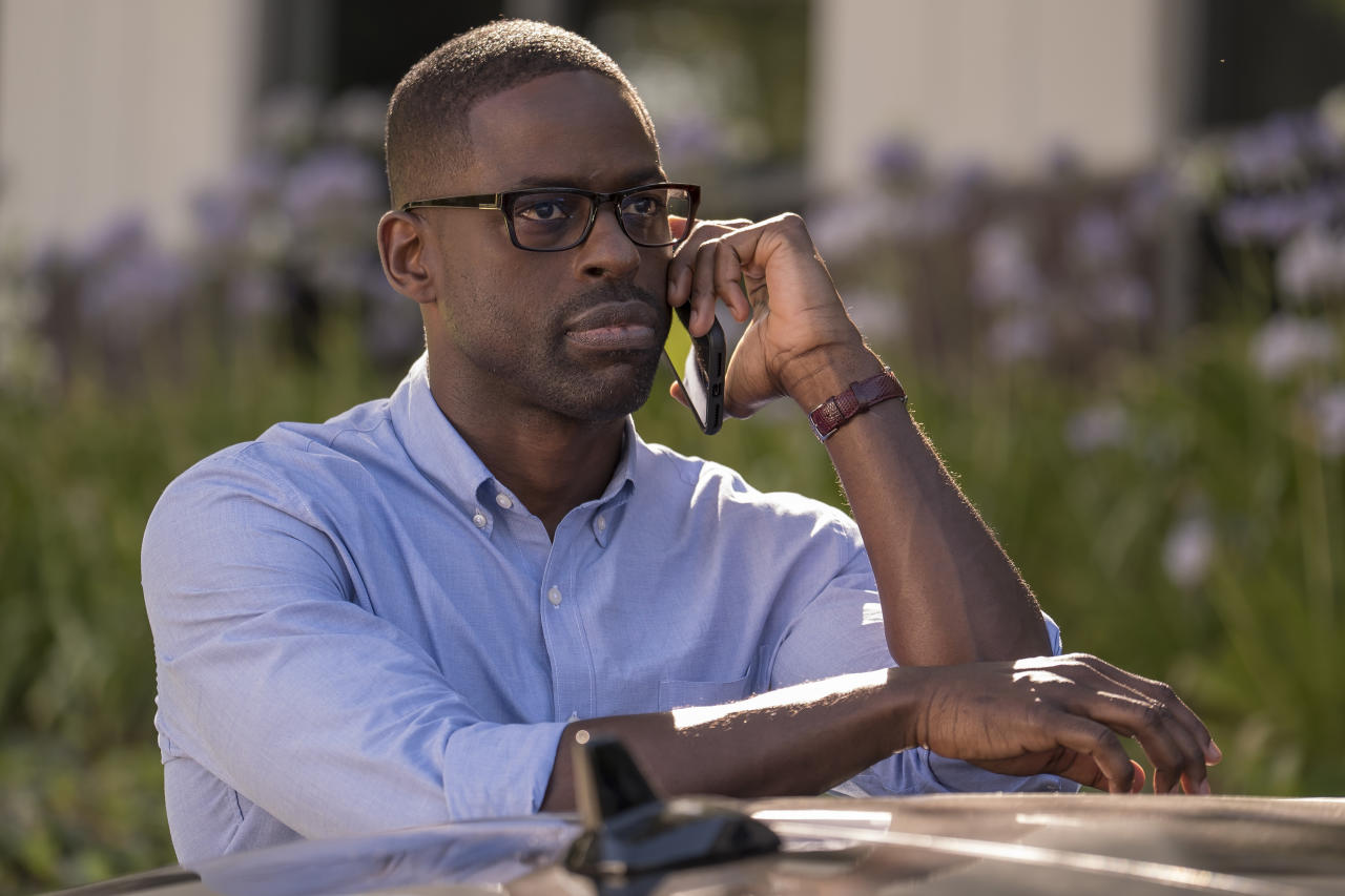<p>Sterling K. Brown as Randall Pearson in NBC's <i>This Is Us</i>.<br />(Photo: Ron Batzdorff/NBC) </p>