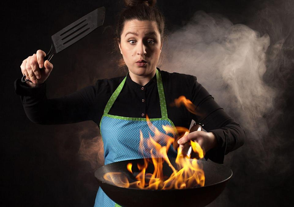 """<p>The law in Chicago states that you may not eat in a place that's on fire ... hopefully that doesn't interfere with any especially """"hot"""" dinner dates you may have planned.</p>"""