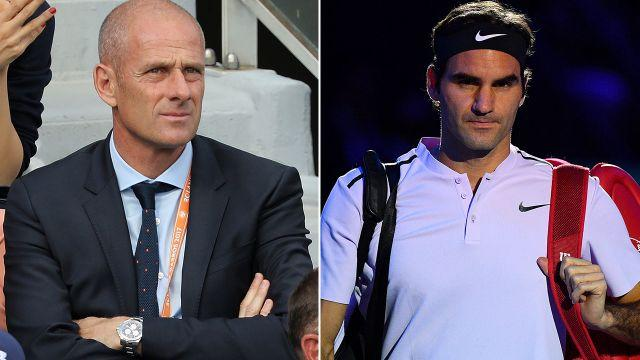 Forget is not happy with Federer. Image: Getty