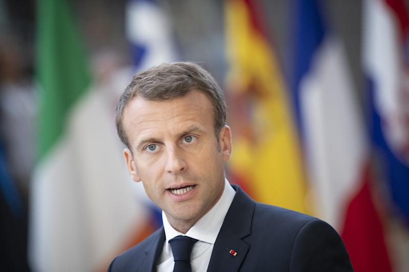 Macron Stirs Anger With Comment on WWI Hero Who Later Helped the Nazis
