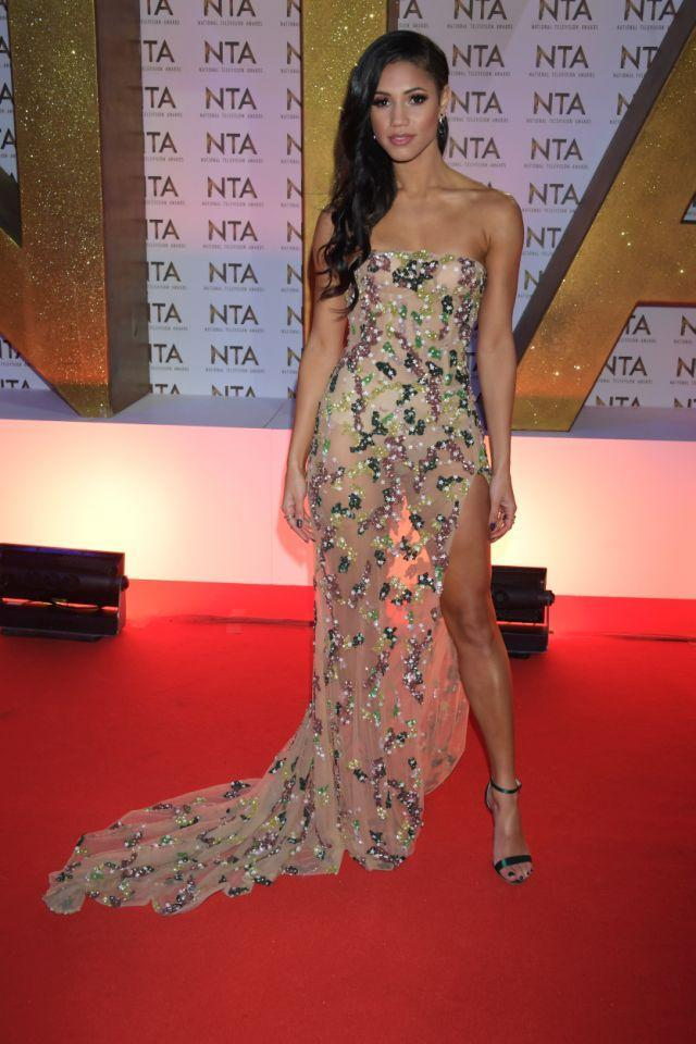 TV- und Radiomoderatorin Vick Hope bei den National Television Awards 2020 in London. (Foto: Getty Images)