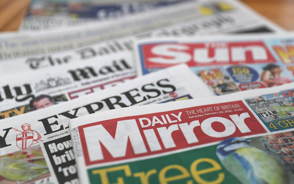 What the papers say – July 31 (PA) (PA Wire)