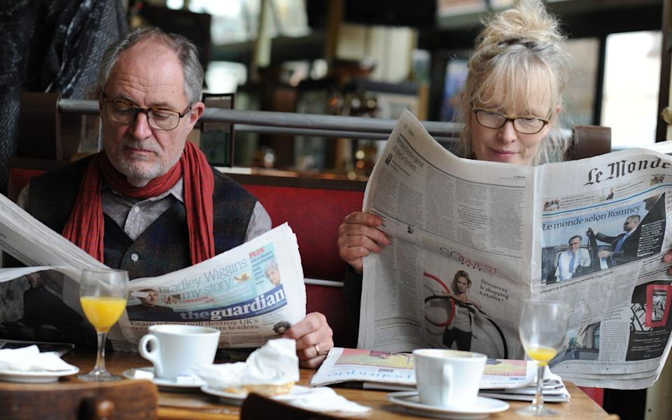Le Week-End, directed by Roger Michell, starring Lindsay Duncan and Jim Broadbent - Nicola Dove/Film Stills