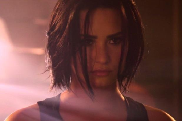 20b317ed439 Demi Lovato Teases 'Confident' Video After Posing Nude for Vanity Fair