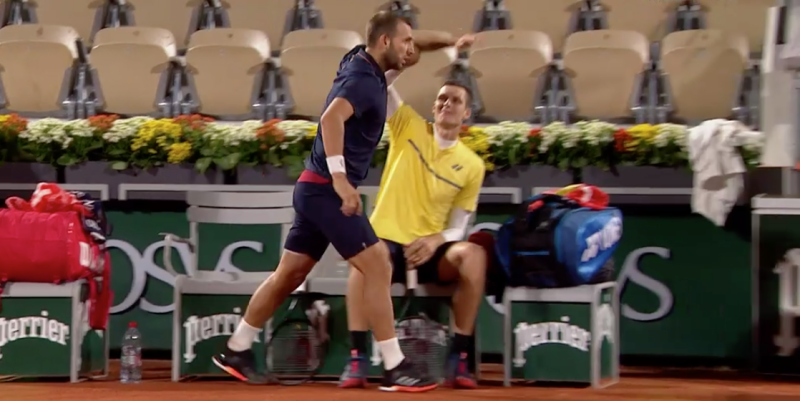 Dan Evans was left angry at the accusationEurosport