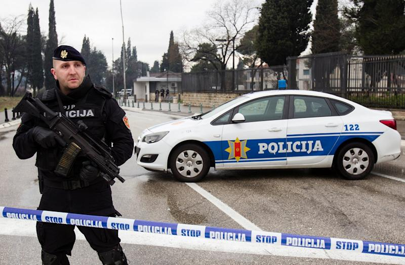 montenegro police us embassy attack
