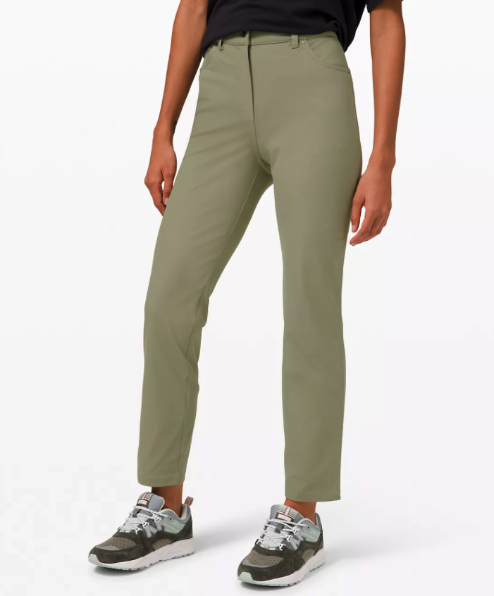 City Sleek 5 Pocket 7/8 Pant. Image via Lululemon.