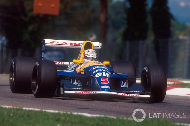"Nigel Mansell - 28 victorias con Williams <span class=""copyright"">LAT Images</span>"