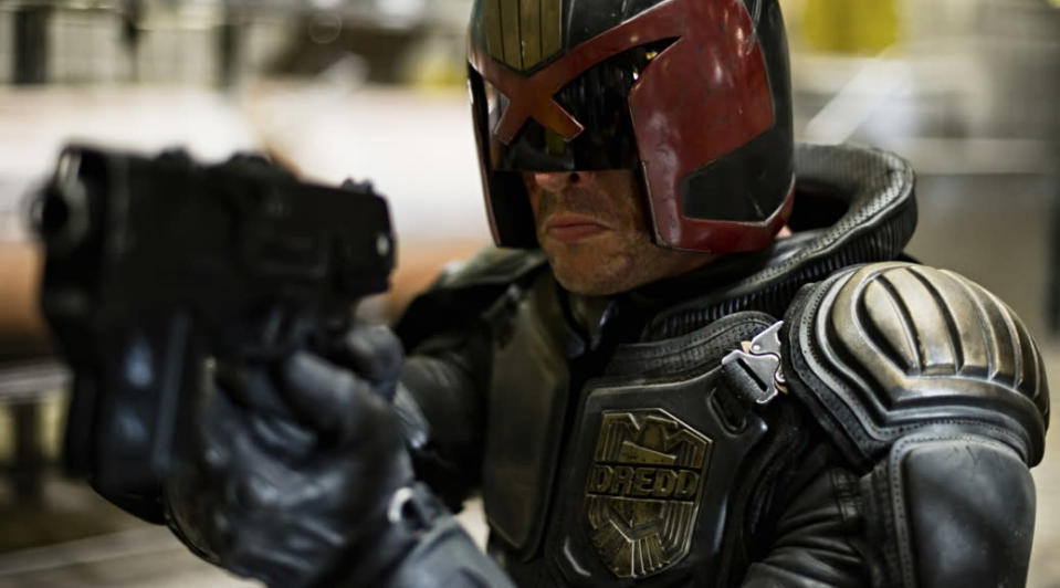 <p> No, not the Sylvester Stallone one from the '90s, but the gritty, tough-as-nails 2012 adaptation starring Karl Urban. In Dredd, the eponymous lawman brings about justice in the post-apocalyptic landscape of a collapsing Mega-City One. The film, adapted from the classic Judge Dredd comics, paints a terrifying picture of a future where police have the power to play judge, jury, and executioner. Drug lord Ma-Ma (Lena Headey) poses a deadly threat and Dredd seeks to put an end to her empire in this fittingly violent thrill-ride of an adaptation. </p>