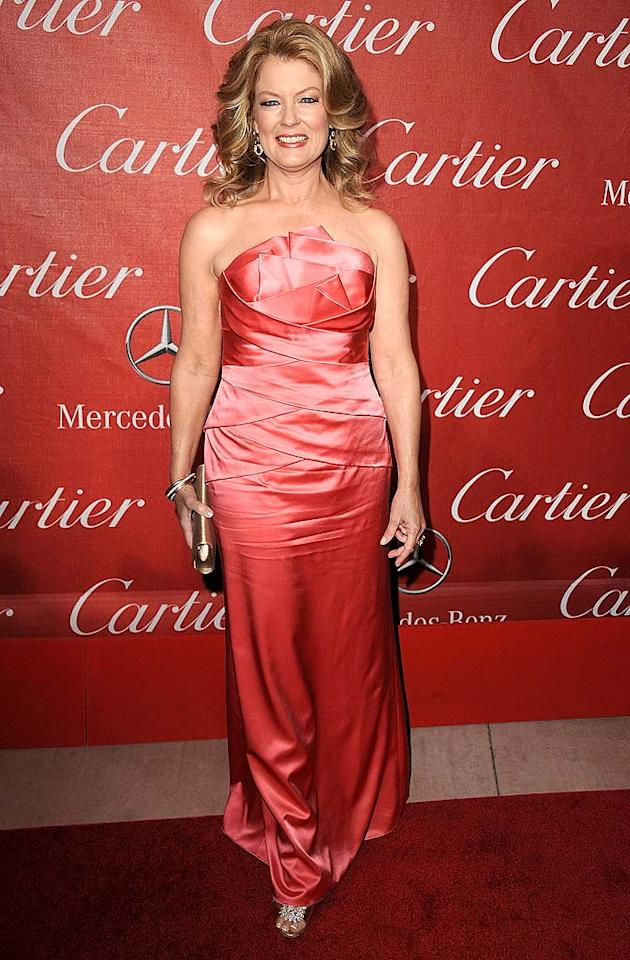 "Is it just us, or does ""Entertainment Tonight"" hostess with the mostest Mary Hart seem to be stuck in the late '80s-""Dynasty"" era? Steve Granitz/<a href=""http://www.wireimage.com"" target=""new"">WireImage.com</a> - January 8, 2011"