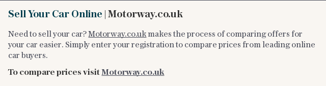 Sell Your Car Online | Motorway.co.uk | how_to_know_when_to_sell_your_car