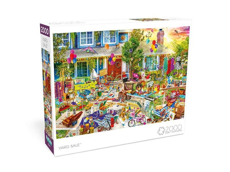Buffalo Games Yard Sale by Aimee Stewart 2,000-Piece Jigsaw Puzzle. (Photo: Amazon)