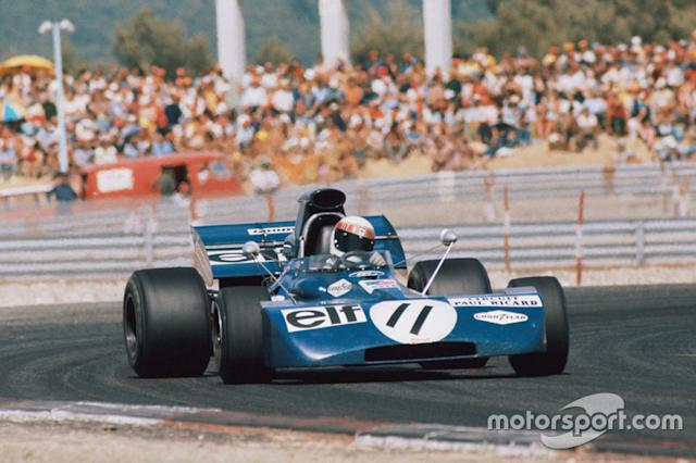 """Jackie Stewart, Tyrrell 003 Ford, 1971 <span class=""""copyright"""">LAT Images</span>"""