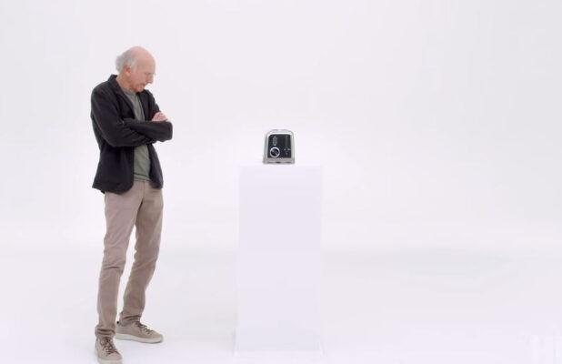 Watch Larry David Fight With a Toaster in 'Curb Your Enthusiasm' Season 10 Teaser (Video)