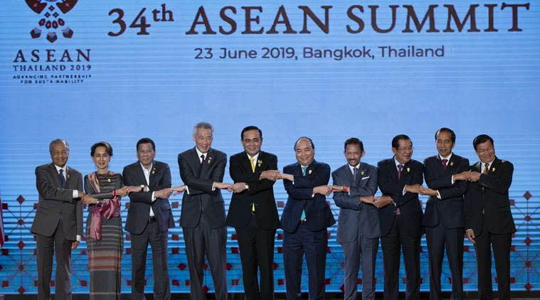 US-China relations, asean summit, asean meet, rohingya crisis myanmar, us-china sanctions, asian news, world news, asean summit thailand