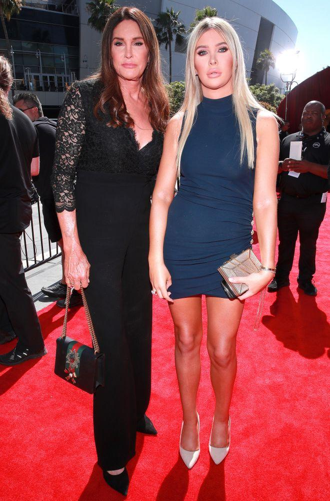 Caitlyn Jenner and Sophia Hutchins | Rich Fury/Getty