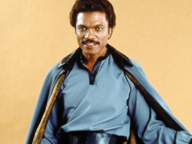 Billy Dee Williams as Lando Calrissian (Photo: Lucasfilm)