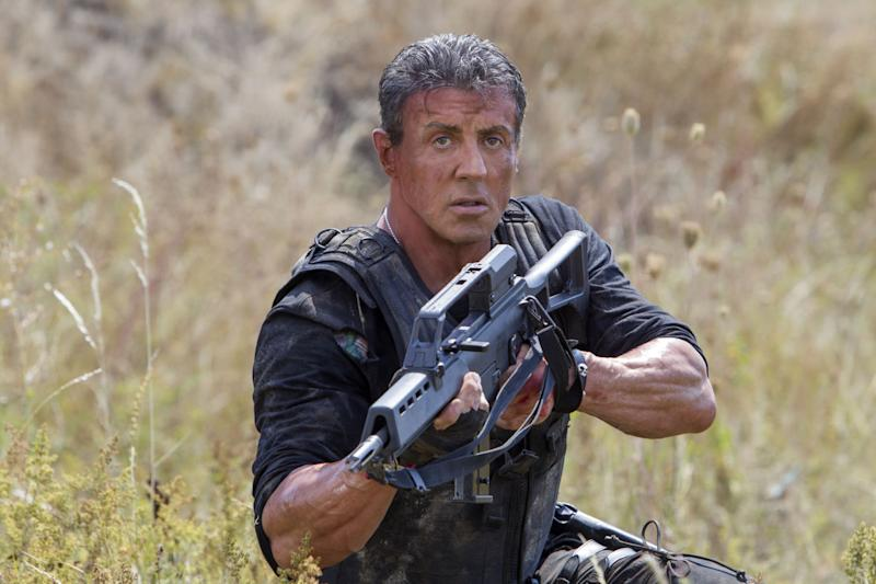 Stallone in 2014's 'The Expendables 3' (credit: Lionsgate)