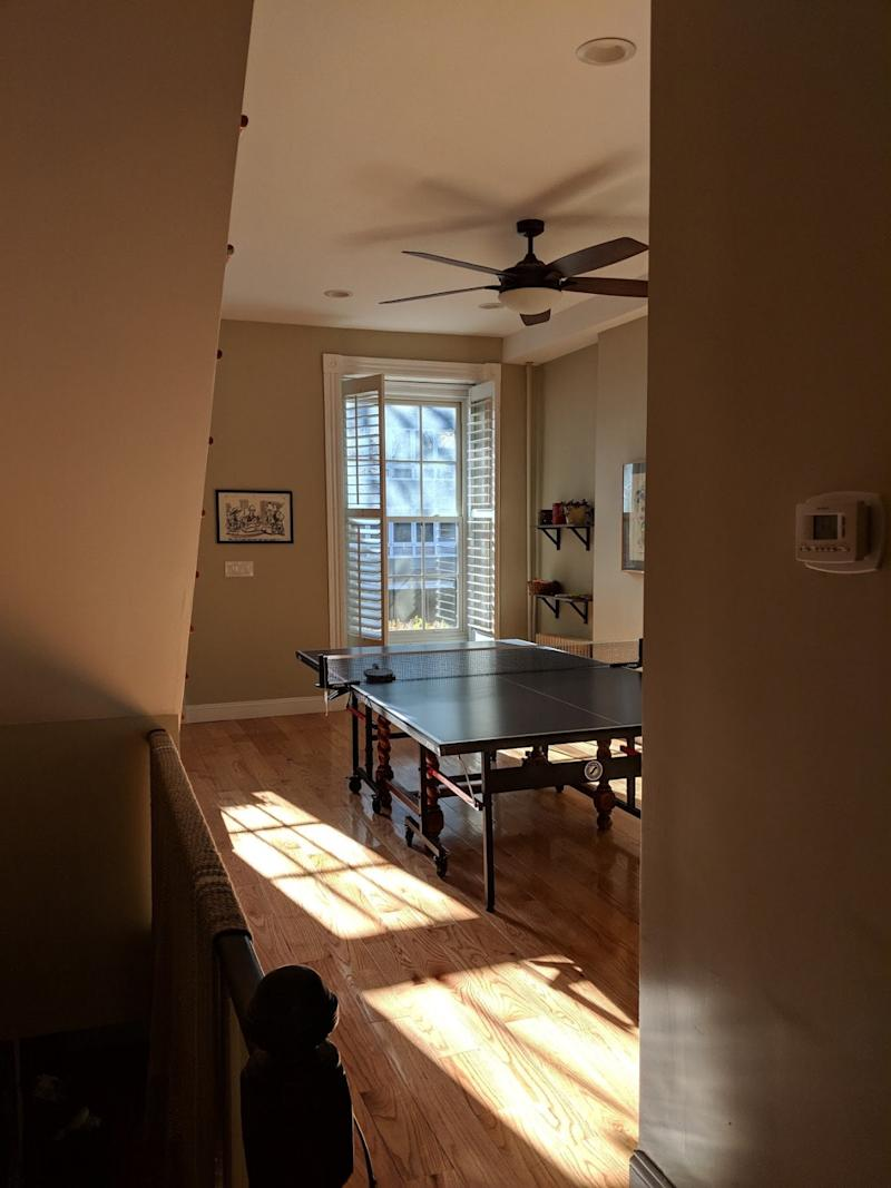 BEFORE: With a peek of good light streaming in the window, one can easily see the potential in a little refresh.