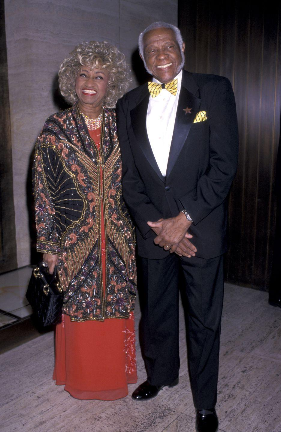 <p>She met the love of her life, Pedro Knight during her time in Sonora Matancera. He was a trumpeter in the band and later became Cruz's manager. The couple married in a civil ceremony on July 14, 1962, and celebrated 41 years of marriage.</p>