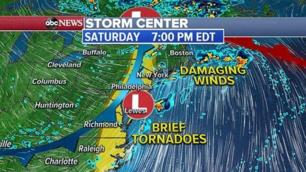 PHOTO: Unlike the traditional summer threats for parts of the Northeast, it will likely remain rather unsettled for most of the day. Any slow-moving storm could produce some flooding concerns. (ABC News)