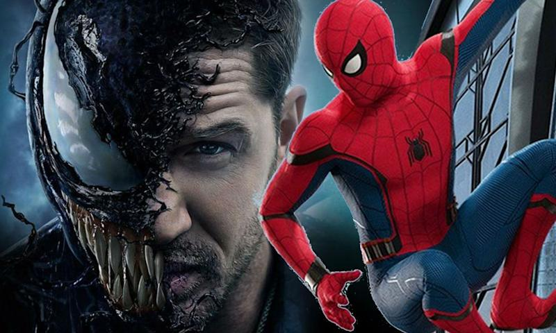 Venom director on Spider-Man crossover (Credit: Sony)