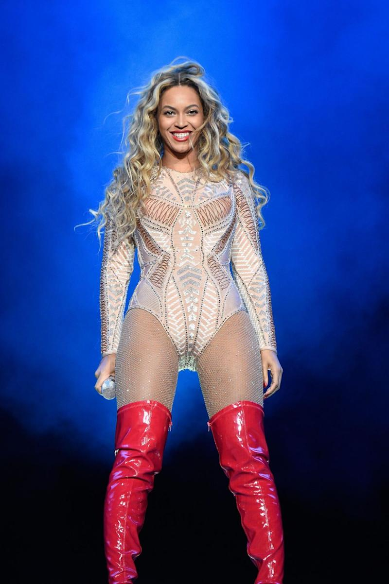 She beat out the likes of super-popular singer Beyonce. Photo: Getty Images
