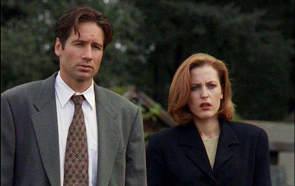 Mulder and Scully (Press)