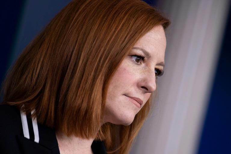 White House Press Secretary Jen Psaki called for 'a credible international investigation' which she called 'a direct affront to international norms'