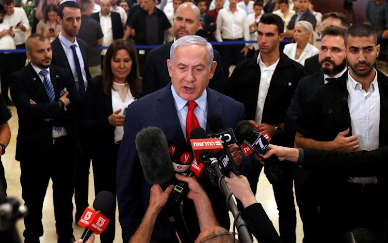 Mr Netanyahu failed to form a coalition before Wednesday's deadline - REUTERS
