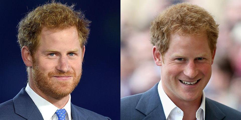 <p><strong>Signature: </strong>Full red beard </p><p><strong>Without Signature: </strong>At a concert in London with a clean-shaven face.</p>
