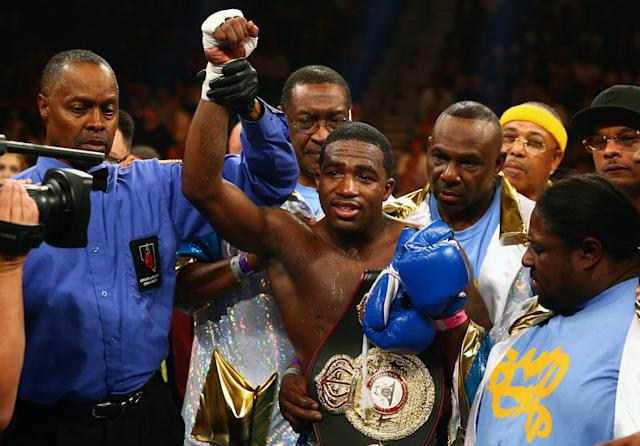 Adrien Broner will fight John Molina on March 7 on NBC. (Mark J. Rebilas-USA TODAY Sports)