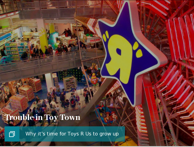 Toys R Us feature