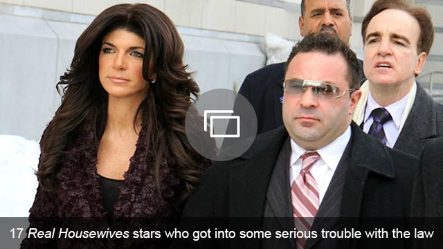 real housewives legal trouble slideshow